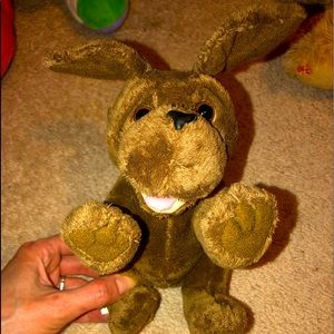 Brown Dog Stuffed Animal Plush